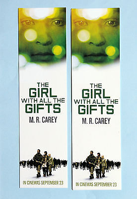 3 X The Girl With All The Gifts Film Movie Bookmarks - Gemma Arterton  M R Carey