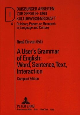 User's Grammar of English: Pts. A-D in 1v: Word, Sentence, Text, ...