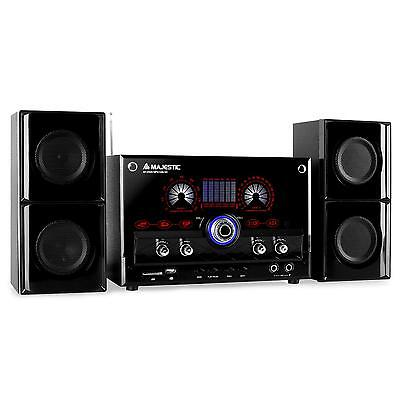[OCCASION] Systeme audio stereo 2.1  enceintes subwoofer karaoke tuner FM AM