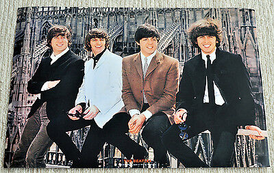 The Beatles poster Beatles in Milan Italy, 1965 caphedral Japanese poster RaRe!