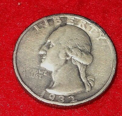 1932-S Washington Quarter, VG