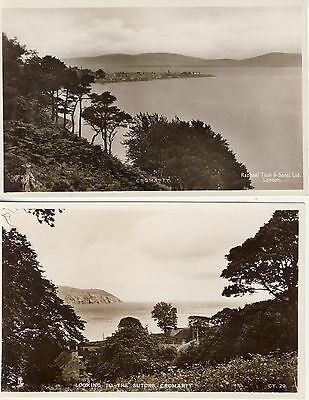 2 Postcards Of Cromarty Scotland By Tuck