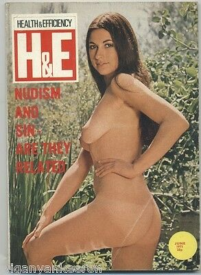 HEALTH and EFFICIENCY Magazine June 1971