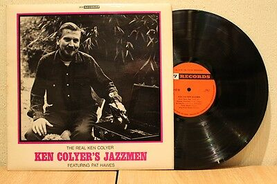 Ken Colyer's Jazzmen The Real Ken Colyer 1964 77 Records Lp Ex+