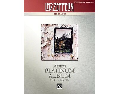 Alfred Led Zeppelin IV Guitar Tab Platinum Edition Book