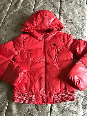 NEW Abercrombie Kids Down Puffer Jacket coat Girls XL