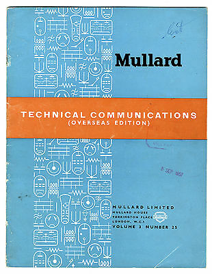 Mullard - Technical Comunications - Volume 3 - Number 25 - May 1955