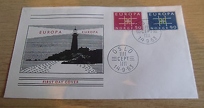 Norway 1963 EUROPA FDC