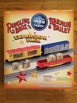 K-Line by Lionel 22126 Ringling Bros & Barnum Bailey Circus Exp. Pack NEW!