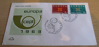 Luxembourg 1963 EUROPA FDC