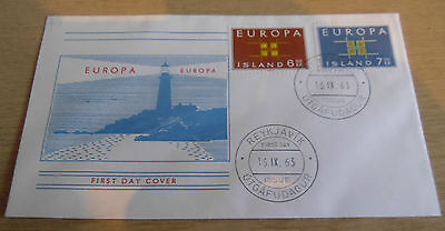 Iceland 1963 EUROPA FDC