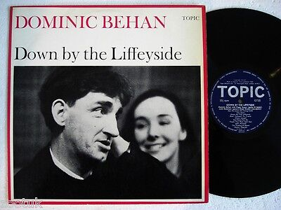 DOMINIC BEHAN Down By The Liffeyside TOPIC LP Rec.1959