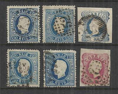 (W52) Portugal – 1860-70s Used Selection