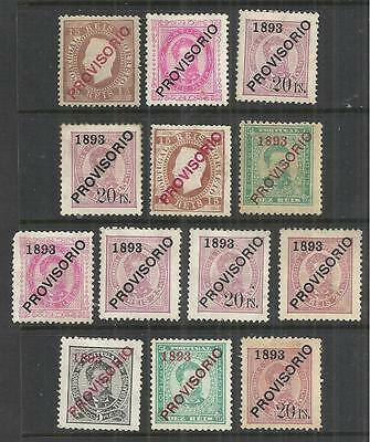 (W56) Portugal – 1866-84 Unused & Mint Selection