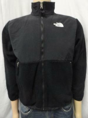 Boy's The North Face black full zip polartec fleece jacket size- L