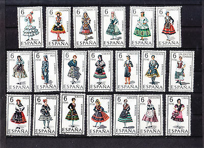 Timbres Neuf * D' Espagne Costume Region