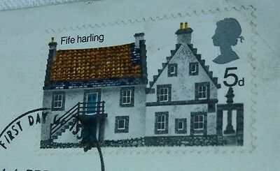 1970 First day cover Stamp 5d Fife Harling