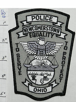 Ohio, Newcomerstown Police Dept Patch
