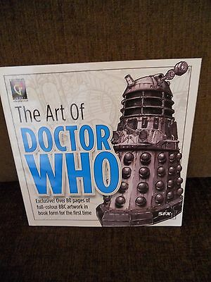 The Art Of Doctor Who Book