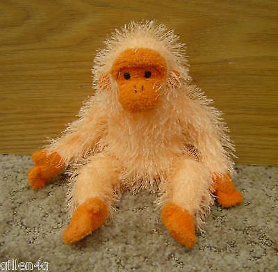 Ty Inc. 2003 Punkies Monkey Beanie Plush Trapeze *ln