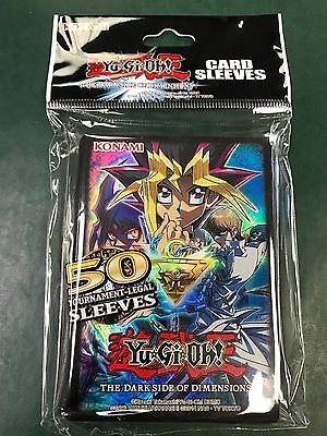 50ct Yu-Gi-Oh! - Dark Side of Dimensions Movie - Sleeves Deck Protectors 83183