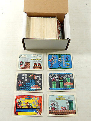 Over (175) 1989 Topps Nintendo Super Mario Bros Scratch-Off Cards ^ Avg Nm/Mt