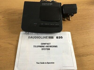 Audioline TAD835 Answering System in Very Good Condition