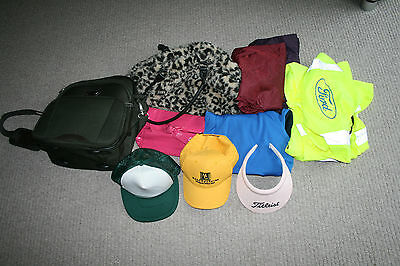 Very Cheap  - Job Lot Of, Mixed Hats, Jackets, Bags, Trousers, Hi Viz, Good Cond