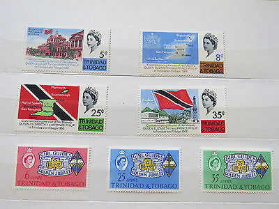 Trinidad & Tobago, Two Sets Of Umounted Mint Stamps