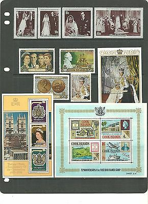 Cook Islands Collection Of Various Selection&sets From Estate Album Mint Nh (3)
