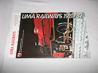 Lima 1981/82 Catalogue with price list