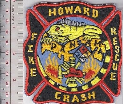 Canal Zone Fire Depatment, Howard Air Force Base Fire, Crash & Rescue Zona del P