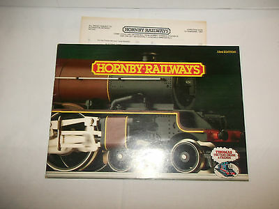 Hornby 33rd Edition Catalogue with price list