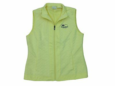 New EP Pro Womens Quilted Golf Vest Desert Pines Logo Chamois Medium Large