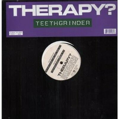 "THERAPY (ROCK GROUP) Teethgrinder 12"" VINYL UK A&M 1992 2 Track Tee Hee Dub Mix"