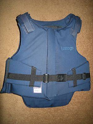 Ex Cond Just Togs Childs Navy Horse Riding Body Protector Level 3 Beta 3000 30L
