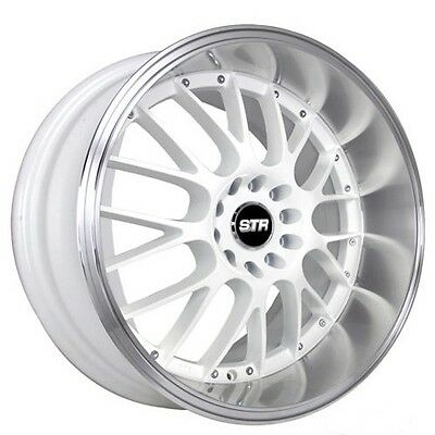 new 4 20 staggered str wheels 514 white jdm style rims 999 00 H2 Wheels On Dodge new 4 20 staggered str wheels 514 white jdm style rims