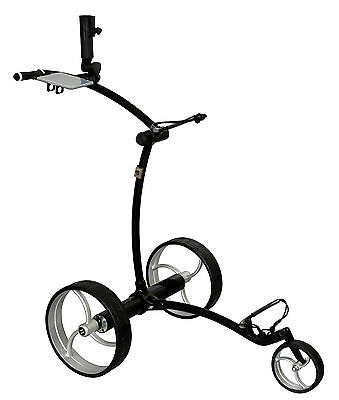Tour Made RT-630LI Quickfold Lithium Chariot électrique Golftrolley Caddy noir