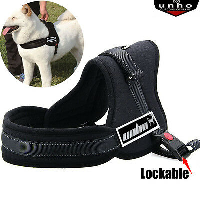 Pet Collar Large Dog Soft Adjustable Harness Pet Walk Out Hand Strap Vest Collar