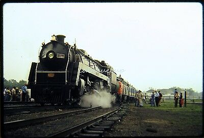 Railroad Slide Canadian National CN Steam 6060 Special Barry ON