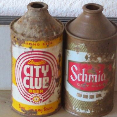 2  Different Schmidts  City  Club  Cone Tops