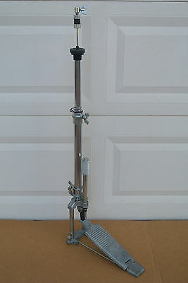 OLD SCHOOL YAMAHA HI HAT STAND for YOUR DOUBLE BASS DRUM SET! LOT #C576