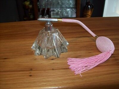 Clear Glass Perfume Atomiser