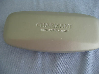 Charmant Titanium Perfection, Gray, Hard Eyeglass Case