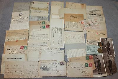 Wwi 314Th Infantry Victory Medal Meuse-Argonne Photos/correspondence Jewish Gi