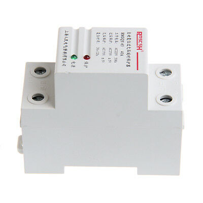 Automatic Recovery 40A 220V Reconnect Over Under Voltage Protection Relay