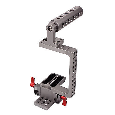 DSLR 15mm Camera Cage Rig With Top Handle For Sony A7 A7ii A7S,GH3 GH4 BMPCC