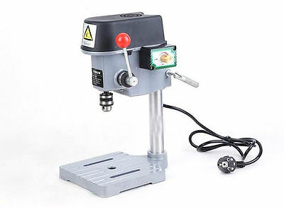 Mini Bench Drill 340W 220V 10mm Mini Drill Grinder Rotating Fixed Bench Machine