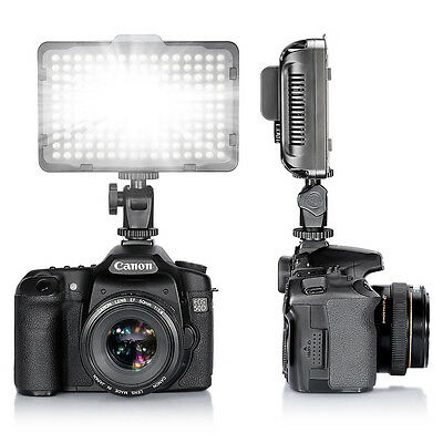 Neewer Photo Studio 176 LED Ultra Bright Dimmable On Camera Video Light f Canon