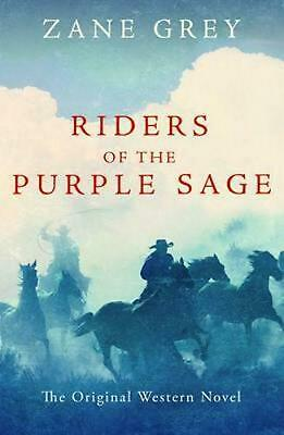 Riders of the Purple Sage by Zane Grey (English) Paperback Book Free Shipping!